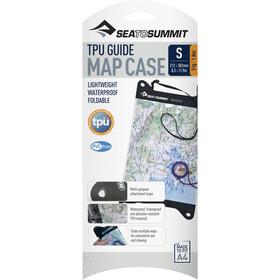 Sea to Summit TPU Guide Estuche para mapa Pequeña, transparente/negro